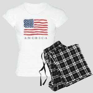 AMERICAN flag only Pajamas