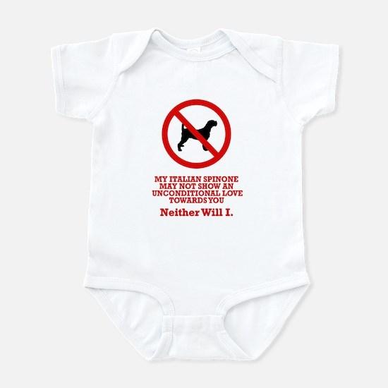 Italian Spinone Infant Bodysuit