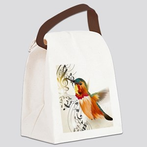 SONG BIRD Canvas Lunch Bag