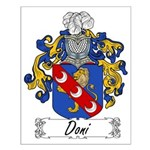 Doni Family Crest Small Poster