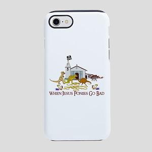 Jesus Ponies iPhone 8/7 Tough Case