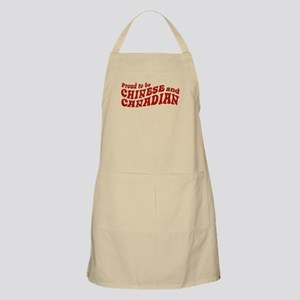 Proud to be Chinese and Canadian BBQ Apron
