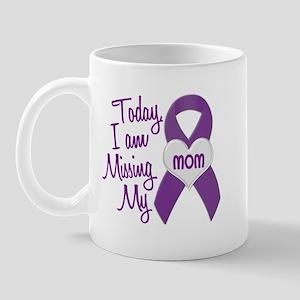Missing My Mom 1 PURPLE Mug