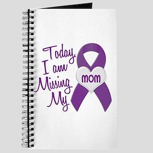 Missing My Mom 1 PURPLE Journal