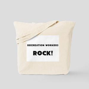 Recreation Workers ROCK Tote Bag