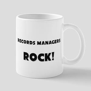 Records Managers ROCK Mug