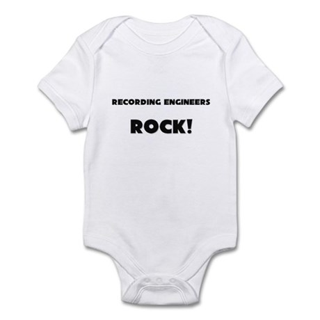 Recording Engineers ROCK Infant Bodysuit