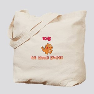 Rob - Middle Brother Tote Bag