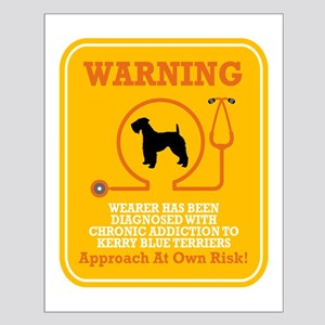 Kerry Blue Terrier Small Poster