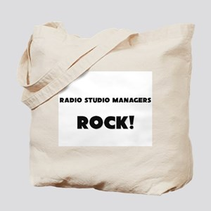 Radio Studio Managers ROCK Tote Bag