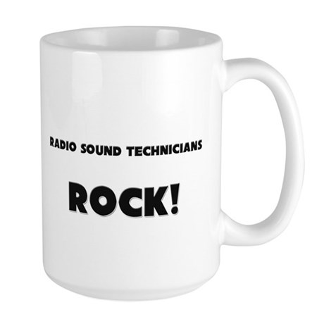 Radio Sound Technicians ROCK Large Mug