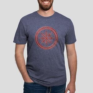 Aegishjalmur: Viking Protection Rune T-Shirt