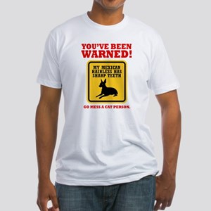 Mexican Hairless Dog Fitted T-Shirt