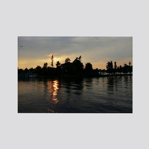 Thousand Island Sunset Rectangle Magnet