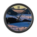 Scenic Large Wall Clock