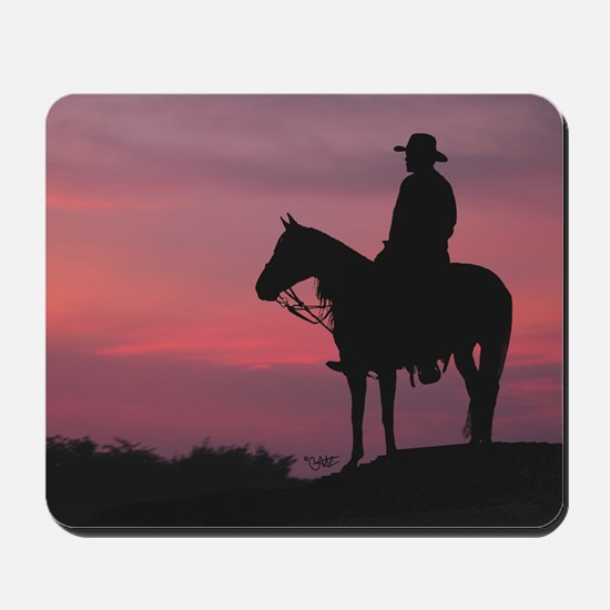 Evening Ride - Mousepad