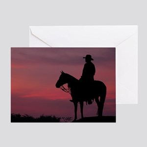 Evening Ride - Greeting Card