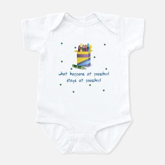 What Happens at Preschool Baby Infant Bodysuit
