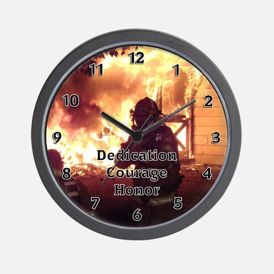 Firefighter T-shirts and Gift Wall Clock