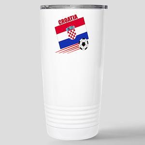 Croatia Soccer Team Stainless Steel Travel Mug