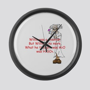 Willie Large Wall Clock