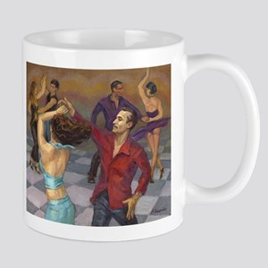 Smooth Salsa by Alla Gerzon Mugs