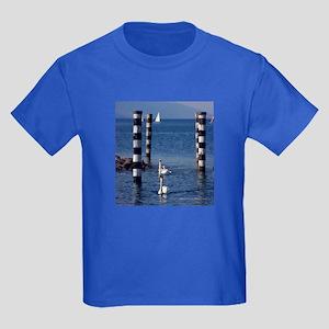 Swan Lake Kids Dark T-Shirt