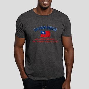 Good Looking Taiwanese Dark T-Shirt