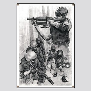 Corrections CERT, 37 mm and SWAT Banner