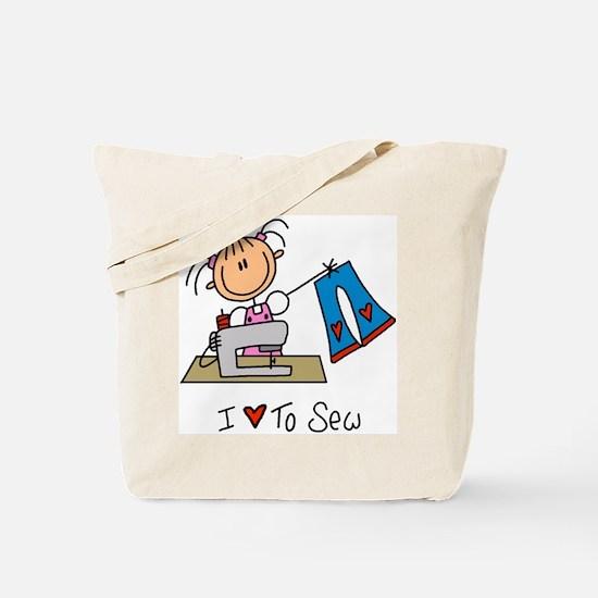 I Love to Sew! Tote Bag