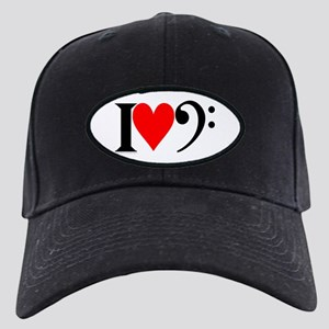 The Low End I Luv Bass Black Cap
