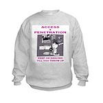 Access + Penetration Kids Sweatshirt