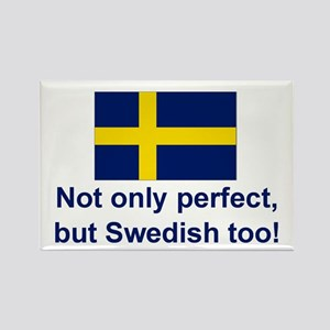Perfect Swede Rectangle Magnet