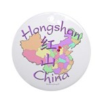 Hongshan China Ornament (Round)