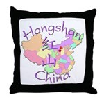 Hongshan China Throw Pillow