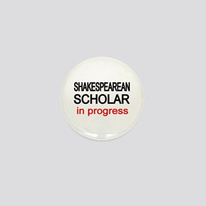 Shakespearean Scholar Mini Button
