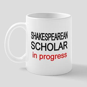 Shakespearean Scholar Mug