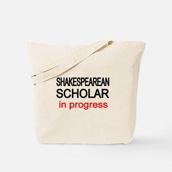 Shakespearean Scholar Tote Bag