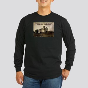 Mission San Xavier del Bac Long Sleeve Dark T-Shir
