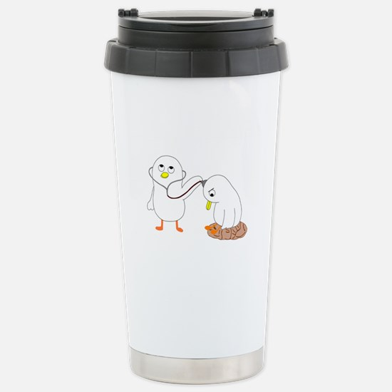 Psychiatrist Stainless Steel Travel Mug