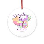 Tongchuan China Ornament (Round)