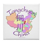 Tongchuan China Tile Coaster