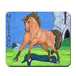 Wild Dun Mustang Mousepad
