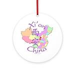 Xi'an China Ornament (Round)