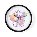 Xi'an China Wall Clock