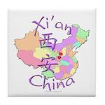 Xi'an China Tile Coaster