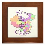 Xi'an China Framed Tile