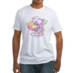 Xi'an China Fitted T-Shirt