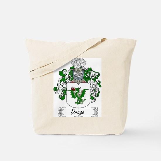 Drago Family Crest Tote Bag