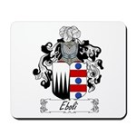 Eboli Family Crest Mousepad